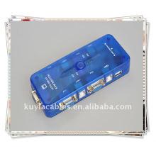 Câble de commutation de souris à clavier USB 2.0 KVM 4 ports USB haute qualité