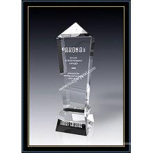 Crystal Award Obélisque Olympique de 11 pouces de hauteur
