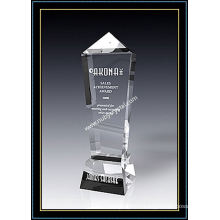 Кристалл Награда Олимпийских Обелиск 11 Дюймов