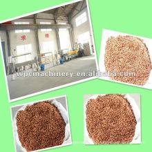 PP/PE+wood powder wood plastic WPC granulating machine---milling,mixing,pelletizing