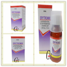 Erythromycine pour suspension orale