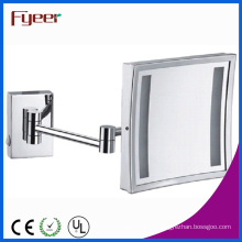 Fyeer Single Side Square Foldable LED Makeup Mirror (M2028F)