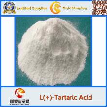 Ácido tartárico adictivo del ácido tartárico de la comida del 99% Pureza ácido Dl-tartárico