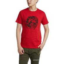Fábrica de Shenzhen OEM Preço Barato Design Gráfico Impresso T Shirt