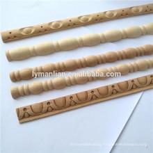 Wooden base molding wood trim moulding