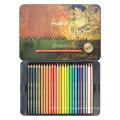 Andstal MASTER 24 Colors light fast Tin Box Professional Fine Art Drawing Colour Colored Pencils Pencil Set Art Supplies Andstal