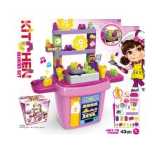 Jouet de jouets pour enfants DIY Kitchen Blocks Toy (H5931055)