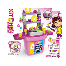 Kids Toy DIY Kitchen Blocks Toy (H5931055)