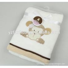 Conceptions animales peu flanelle 70 * 100 pour textile à la maison de l'usine fiable