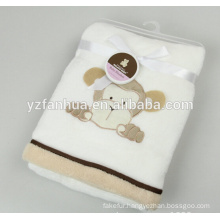 Little animal designs flannel 70*100 for home textile from reliable factory