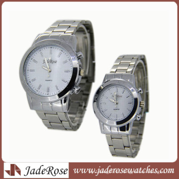 Simple Alloy Couple Watches for Ladies / Men