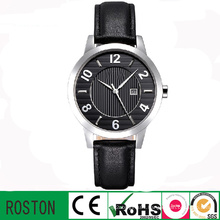 Wholesale Quartz Movement Leather Bracelet Watch for Lady