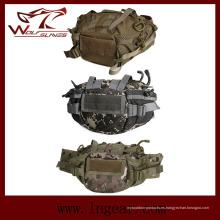 Bolsa de cintura táctico militar para mayor ejército cabestrillo bolsa