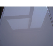 PVC Polish White Sheet PVC Plastic Sheet for Thermoforming