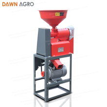 DAWN AGRO China Precio de fábrica Motor diesel Diseño Mini Air-Jet Paddy Rice Mill 0823