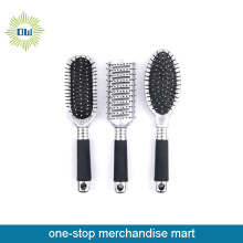 new arrival wholesale hair brush with silver decoration