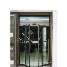 Double ouverture automatique de portes battantes