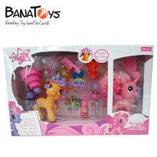 906990873 Jouets à cheval de dessin animé pour filles