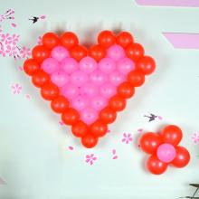 Ballon gonflable d'hélium de ballon d'air avec la forme ronde / coeur pour la publicité / décoration