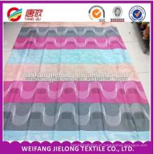 tecido de lençol de algodão 32s * 32s sarja