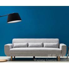 Tissu de fil d'imitation 100% polyester de suède pour meubles