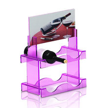 Promotional Acrylic Display Stand with Two Floors for Wine