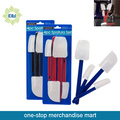 Dollar Items of 4pc Plastic Spatula Set