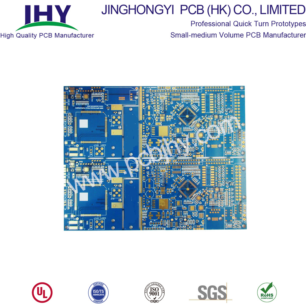 1.6mm Immersion Gold 1oz 10 Layer PCB