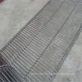 Ceinture de convoyeur de treillis métallique portable en acier inoxydable