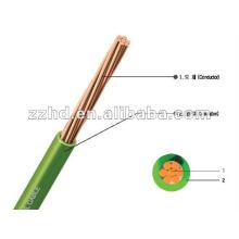Cable de cableado interno NYAF 450/750 V