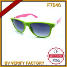 F7046 Templos/ganchos intercambiables gafas de sol con UV400 de CE & FDA