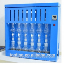 Lab analysis electronic Soxhlet extraction seeds fat analyzer