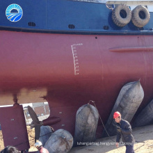 Hangshuo inflating marine rubber airbag for salvage floating and pipe sealing