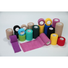 Impresión de vendaje cohesivo Vetwrap Vendaje elástico cohesivo