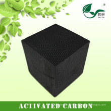 Supply environmental honeycomb activated carbon