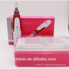 Stylo à peau à rouleau derma à micro-aiguille à chaud