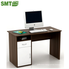 black and white computer table for office storage stype