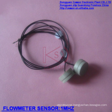 Ultrasonic Flowmeter Sensors to Detect Flow