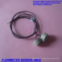 Sensores de caudalímetro ultra-sônico para detectar fluxo