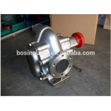 stainless steel food oil transfer mini gear pump/high pressure pump