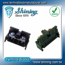 TE-030 Din Rail Mount 600V 30 Amp Cabinet PC Terminal Connector