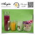 Custom Fragrance Scented Candles in Glass Jar