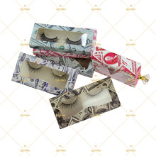 Eyelash Box No Logo Vendor Printing Factory In Stock Lash Own Branding Dollar Lash Packaging Box Drop Shipping Eyelash Set OEM