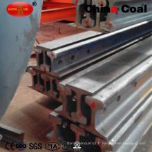 U71mn GB75kg Rail d'acier à vendre
