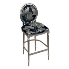 Meubles d'hôtel de chaise de barre de dos rond