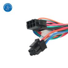 conectores preto ampères molex 6 pinos conector chicote de fios