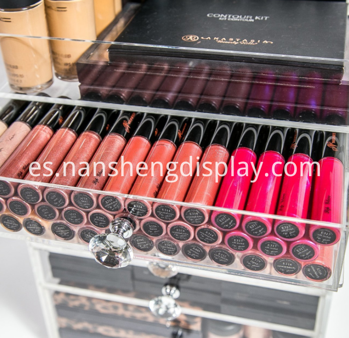 Acrylic 8 Drawers Makeup Organizer Storage Box