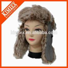 Deportes de alpinismo diseño caliente barato su propio sombrero largo del invierno de las lanas