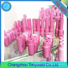 TIG welding ceramic nozzles for tig welding torches