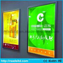 Boîte à lumière de cadre d'affichage d'image mince de LED